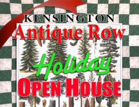 Kensington Antique Row Holiday Open House 2021